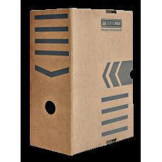 "Короб архивный картонный Buromax ""Jobmax"", 150 мм, крафт"