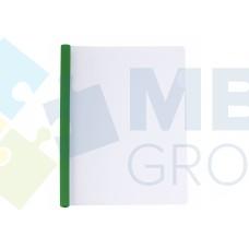 Папка А4 Economix с планкой-зажимом 10 мм (2-65 листов), зеленая
