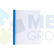 Папка А4 Economix с планкой-зажимом 10 мм (2-65 листов), синяя