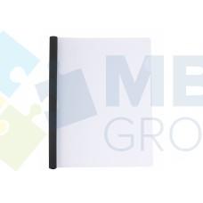 Папка А4 Economix с планкой-зажимом 10 мм (2-65 листов), черная