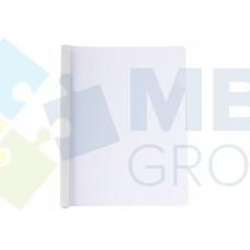Папка А4 Economix с планкой-зажимом 15 мм (2-95аркушив), белая