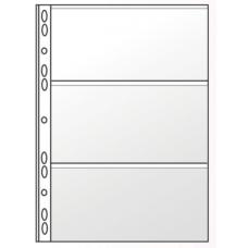 """Файл для банкнот А4 Panta Plast, 90 мкм, фактура """"глянец"""" (1 шт.)"""