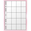 """Файл для 20 монет А4 Panta Plast, 90 мкм, фактура """"глянец"""" (1 шт.)"""