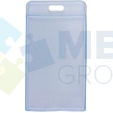 Бейдж вертикальный Optima, PVC, 55х90 мм
