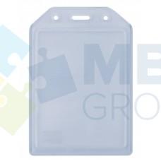 Бейдж вертикальный Optima, PVC, 74х105 мм