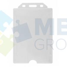 Бейдж вертикальный Optima, PP+PVC, 74х105 мм