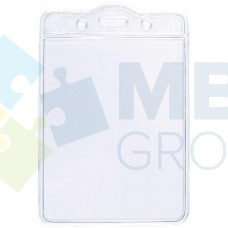 Бейдж вертикальный Optima, PVC, 75х100 мм