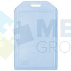 Бейдж вертикальный Optima, PVC, 54х90 мм