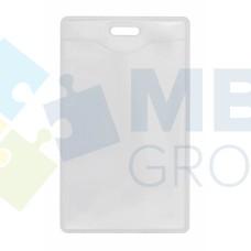 Бейдж вертикальный Optima, PVC, 76х105 мм