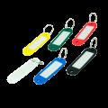 Брелок для ключей пластиковый Buromax 60х20 мм, ассорти