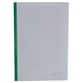 Папка А4 Buromax с планкой-зажимом 6 мм, зеленая