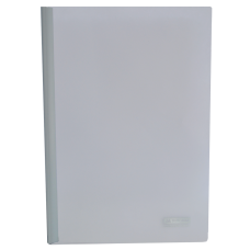 Папка А4 Buromax с планкой-зажимом 6 мм, белая