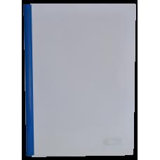 Папка А4 Buromax с планкой-зажимом 15 мм, синяя