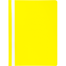 """Папка-скоросшиватель А4 Buromax """"Jobmax"""", без перфорации, фактура """"апельсин"""", желтая"""