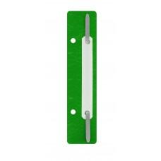 Минискоросшиватель Economix, 20 шт., зеленый