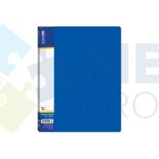 Папка А4 с 10 файлами Economix, синяя
