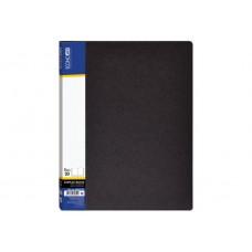 Папка А4 с 20 файлами Economix, черная