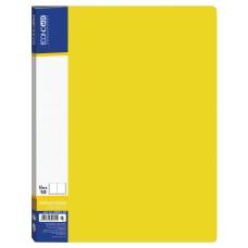 Папка А4 с 10 файлами Economix, желтая