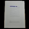 """Обложка бумажная А4 """"Дело"""" Buromax, 0,35 мм"""