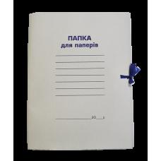 Папка бумажная на завязках A4 Buromax, 0,41 мм