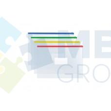 Конверт на молнии А4 Economix, прозрачный