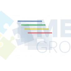 Конверт на молнии В5 Economix, прозрачный