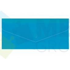 """Евроконверт Е65 Economix, загрузка по длинной стороне, фактура """"глянец"""", синий"""