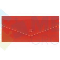 """Евроконверт Е65 Economix, загрузка по длинной стороне, фактура """"глянец"""", красный"""