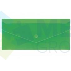 """Евроконверт Е65 Economix, загрузка по длинной стороне, фактура """"глянец"""", зеленый"""