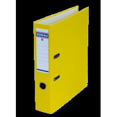 Папка-регистратор А4 MASTER Donau, 50 мм, желтая