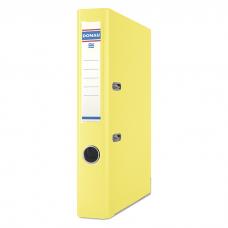Папка-регистратор А4 PREMIUM Donau, 50 мм, желтая