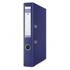 Папка-регистратор А4 PREMIUM Donau, 50 мм, темно-синяя
