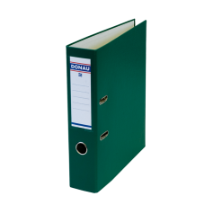Папка-регистратор А4 MASTER Donau, 70 мм, зеленая