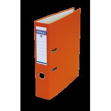 Папка-регистратор А4 MASTER Donau, 70 мм, оранжевая