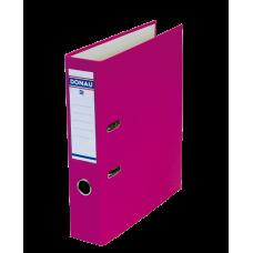 Папка-регистратор А4 MASTER Donau, 70 мм, розовая