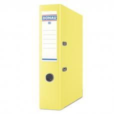 Папка-регистратор А4 PREMIUM Donau, 70 мм, желтая
