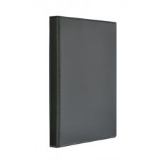 """Папка-регистратор A4 """"Панорама"""" Panta Plast на 4 D-кольца, 25 мм, черная"""