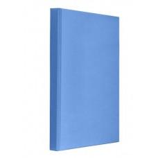 "Папка-регистратор A4 ""Панорама"" Panta Plast на 4 D-кольца, 25 мм, темно-синяя"