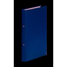 Папка-регистратор А4 Donau на 2-х кольцах, 35 мм, синяя