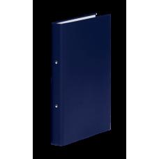 Папка-регистратор А4 Donau на 2-х кольцах, 35 мм, темно-синяя