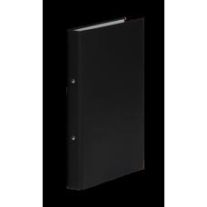 Папка-регистратор А4 Donau на 4-х кольцах, 35 мм, черная