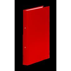 Папка-регистратор А4 Donau на 4-х кольцах, 35 мм, красная