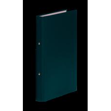 Папка-регистратор А4 Donau на 4-х кольцах, 35 мм, зеленая