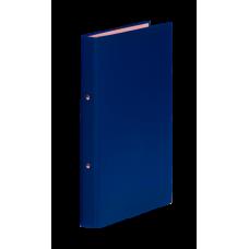 Папка-регистратор А4 Donau на 4-х кольцах, 35 мм, синияя