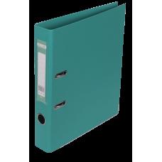 Папка-регистратор А4 ELITE Buromax, 50 мм, бирюзовая