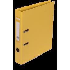 Папка-регистратор А4 ELITE Buromax, 50 мм, желтая