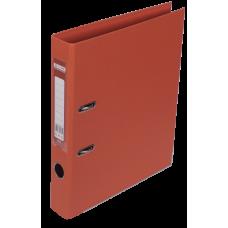 Папка-регистратор А4 ELITE Buromax, 50 мм, оранжевая