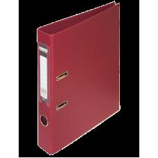 Папка-регистратор А4 ELITE Buromax, 50 мм, бордовая