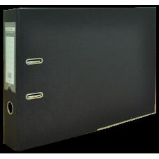 Папка-регистратор А3 ELITE Buromax, 70 мм, черная