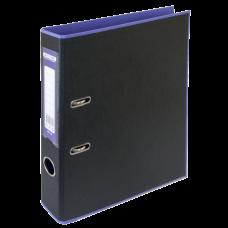 Папка-регистратор А4 STYLE Buromax, 50 мм, фиолетовый/черный